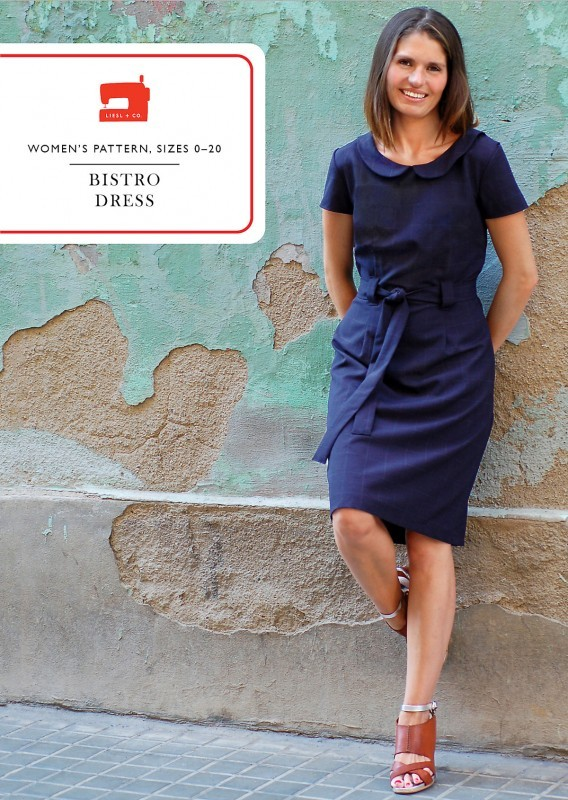 liesl and co  bistro dress sewing pattern