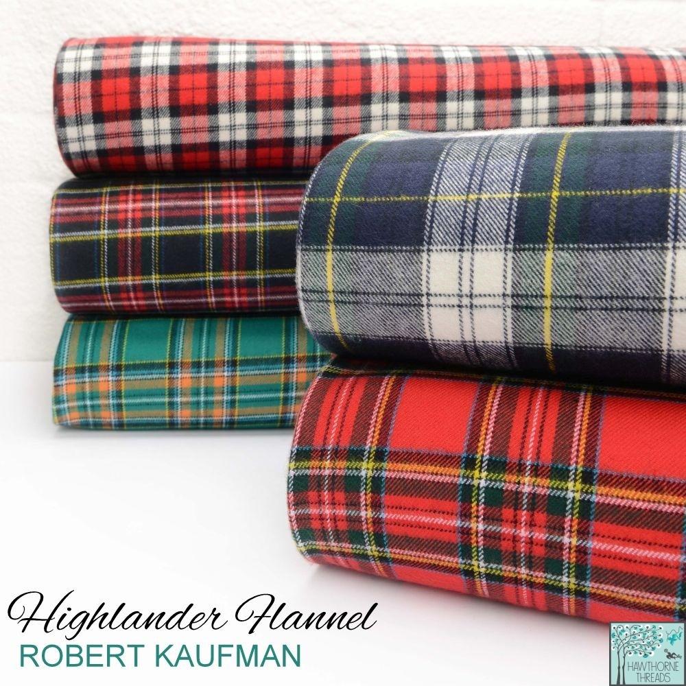 Highlander Flannel Fabric Poster