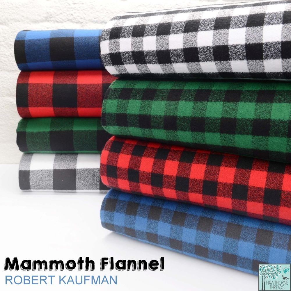 New Mammoth Flannel Fabric Poster
