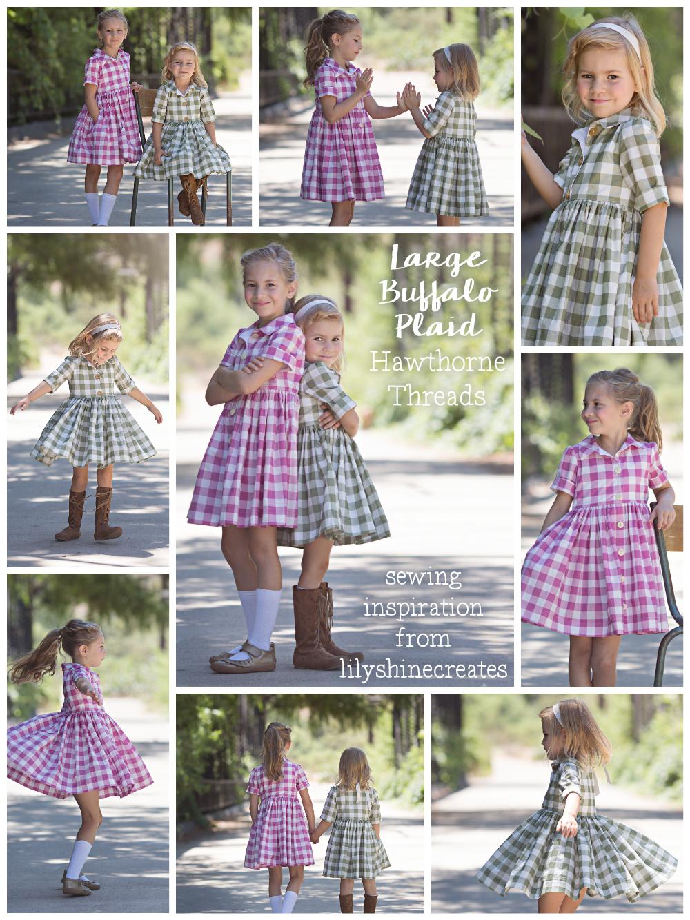 Buffalo Plaid Dress Hawthorne Threads