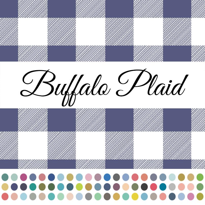 Promo Buffalo Plaid with Dots