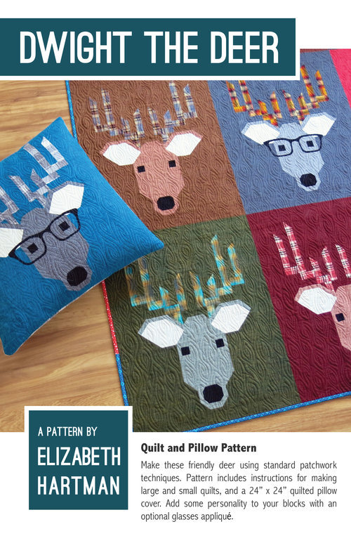 elizabeth hartman dwight the deer sewing pattern