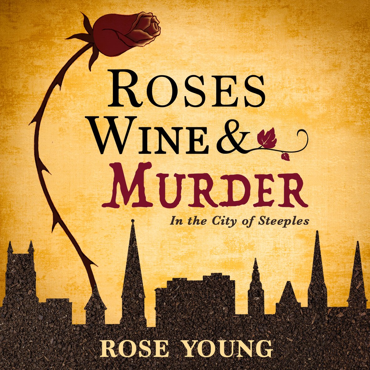 Cover Art roseswinemurder Rose Young
