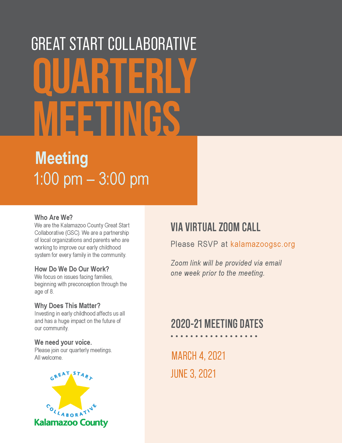 Quarterly Flyer 2020-2021 March