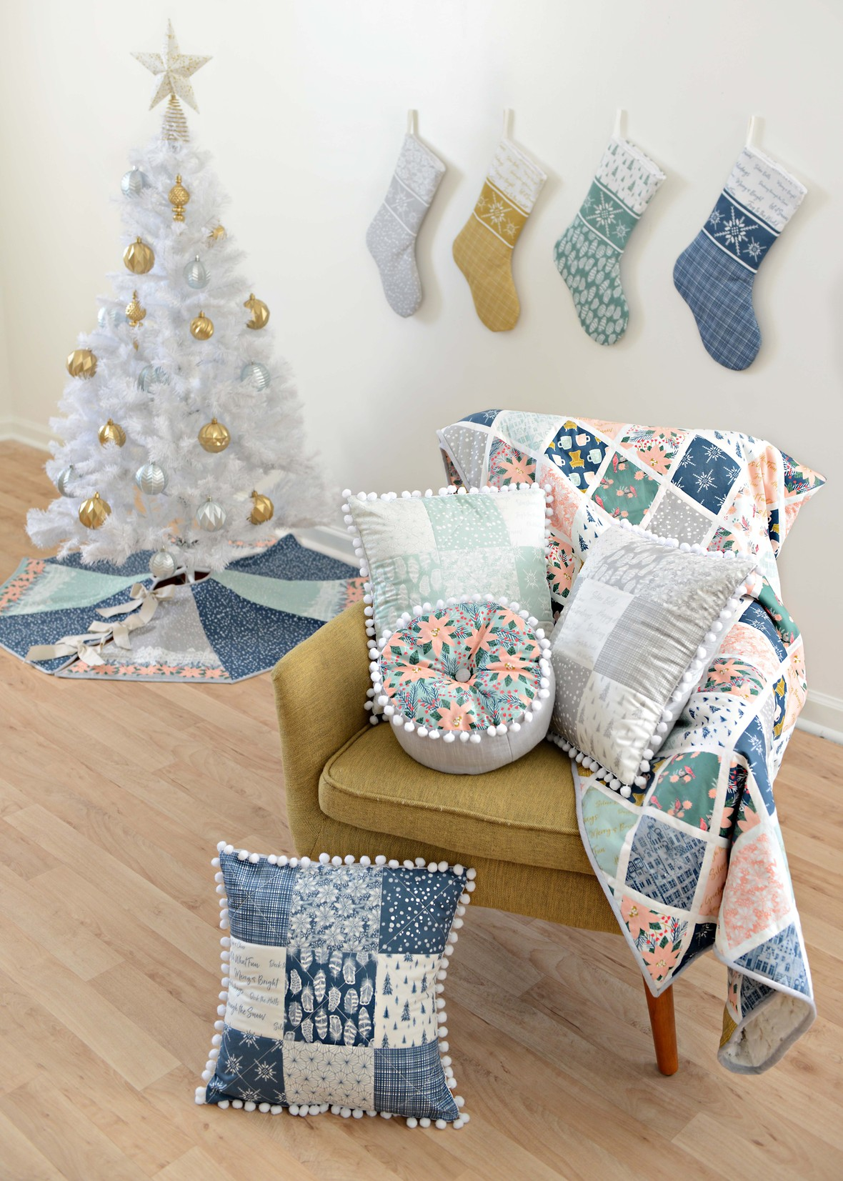 Comfort and Joy Christmas Fabric Prints and Basics