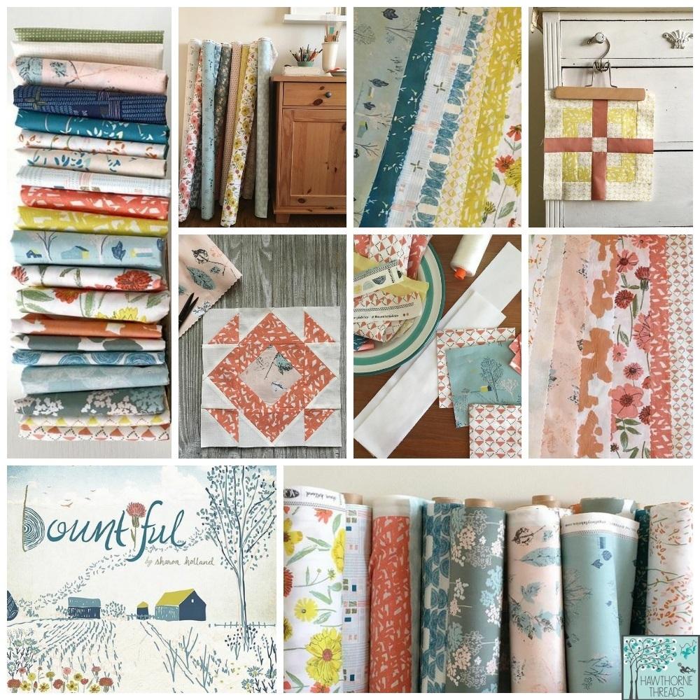 Bountiful Fabric Poster