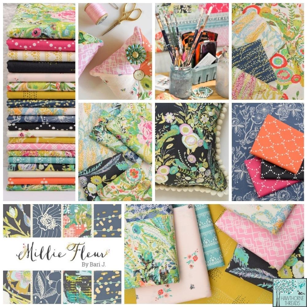 Millie Fleur fabric poster