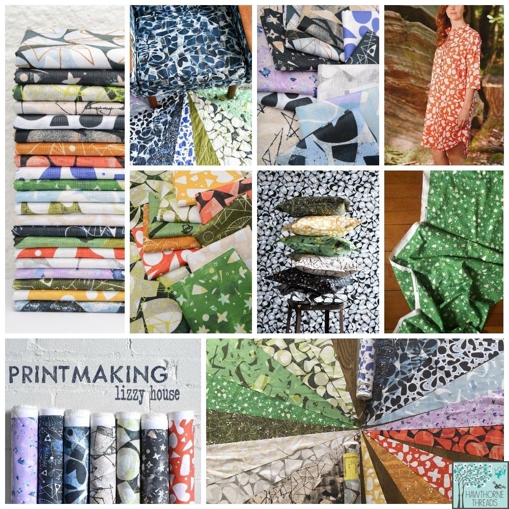 Printmaking Fabric Poster