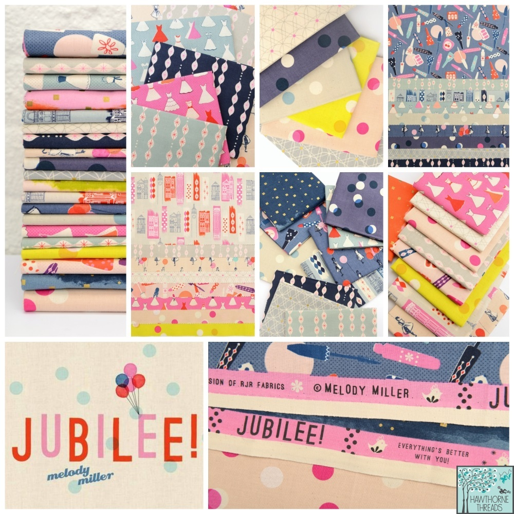 Melody Miller Jubilee  fabric poster