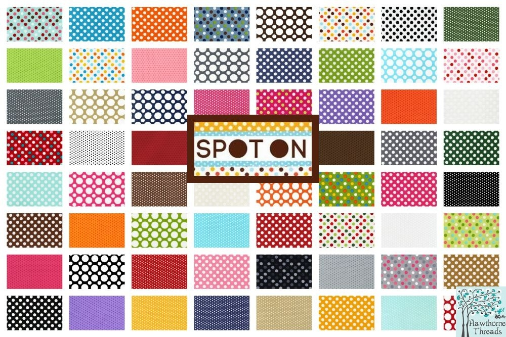 spot on fabric poster