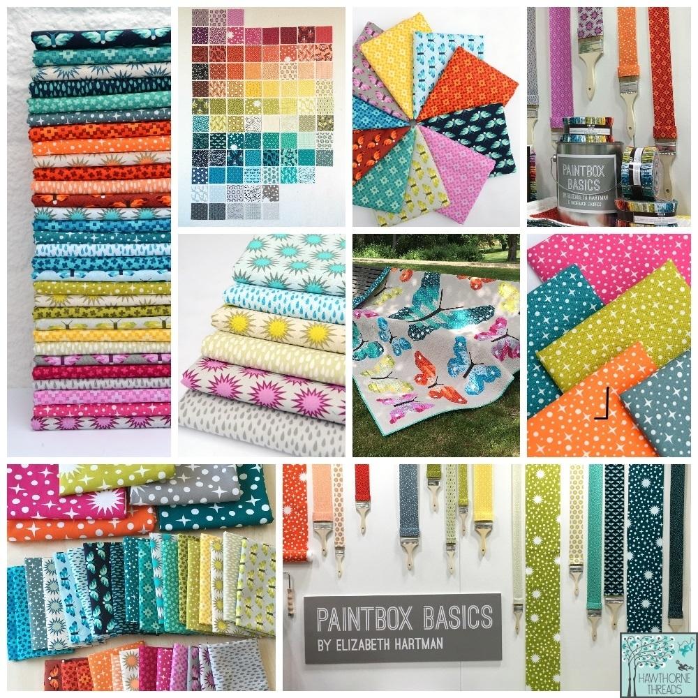 paintbox basics fabric poster