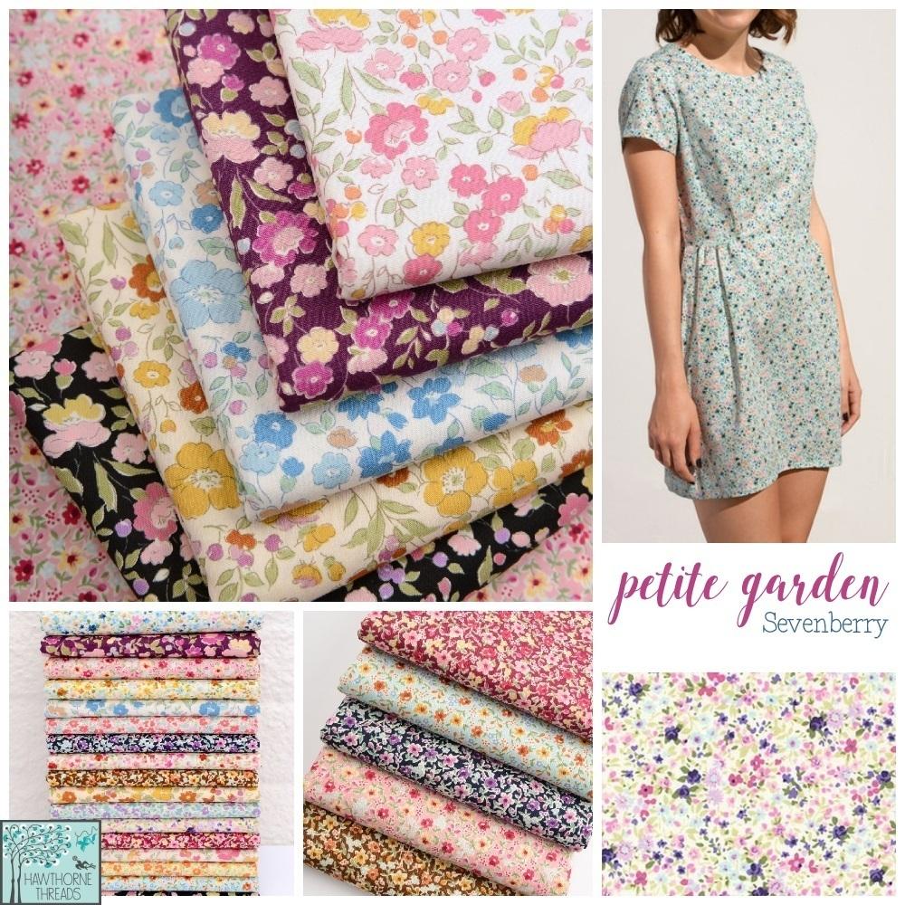 petite garden fabric poster