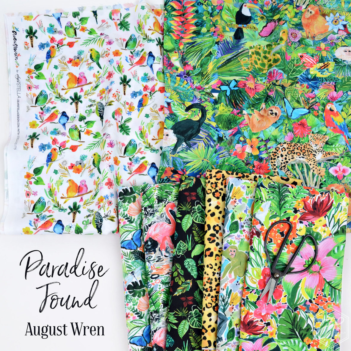 Paradise-Found-fabric-August-Wren-for-Dear-Stella-at-Hawthorne-Supply-Co