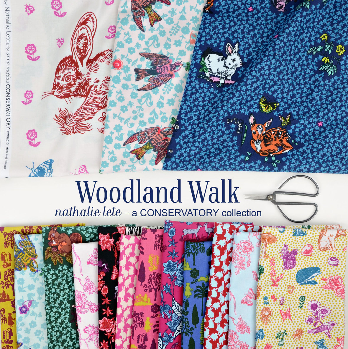 Woodland-Walk-fabric-Natalie-Lete-for-Anna-Maria-Horner-and-Conservatory-and-Free-Spirit-at-Hawthorne-Supply-Co