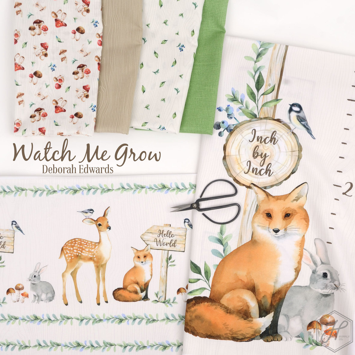 Watch-Me-Grow-Fabric-Northcott-at-Hawthorne-Supply-Co