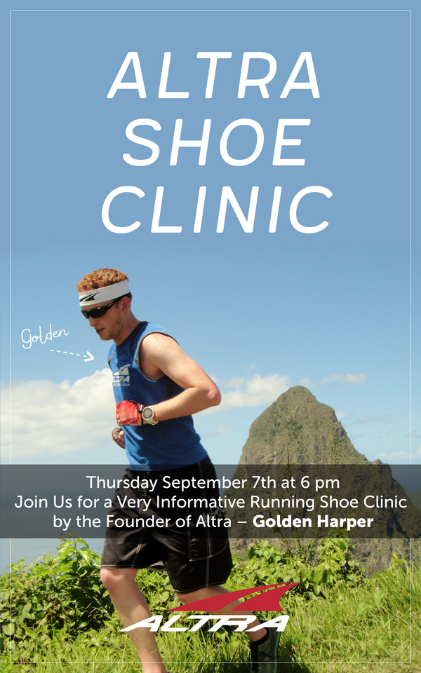 Altra shoe clinic image