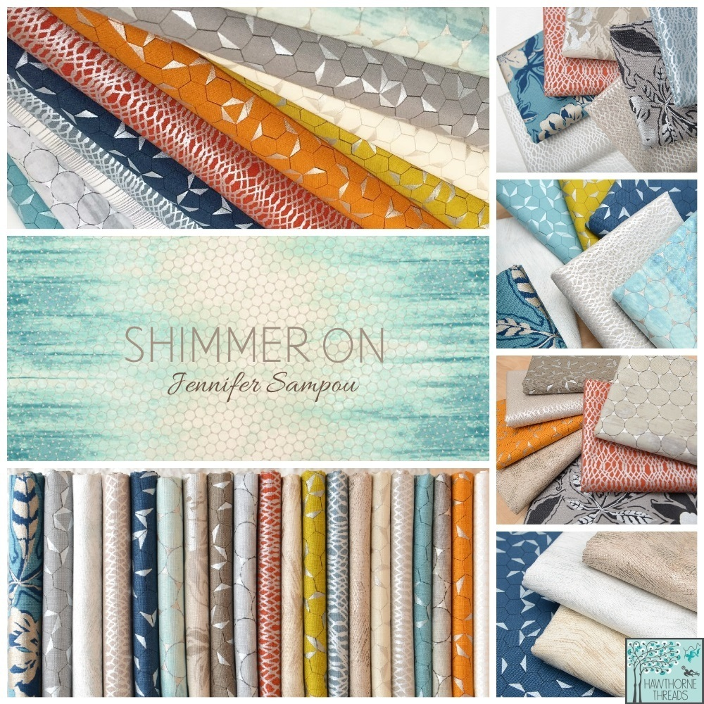 Shimmer On Fabric poster