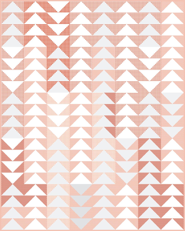 Jawbreaker in progress shades of pink