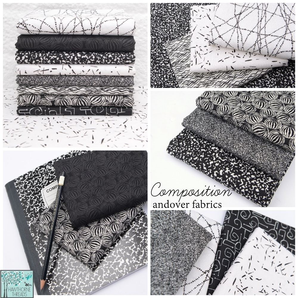 Composition Fabric Poster