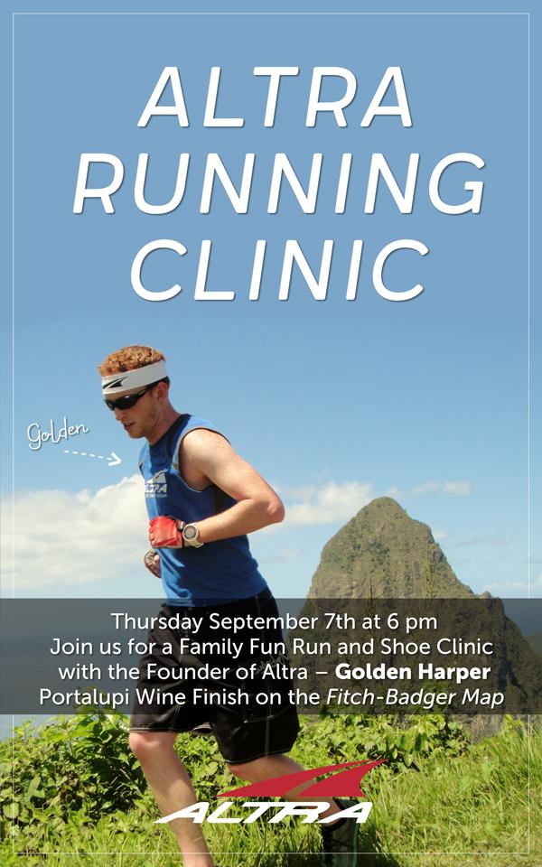 Altra shoe clinic image