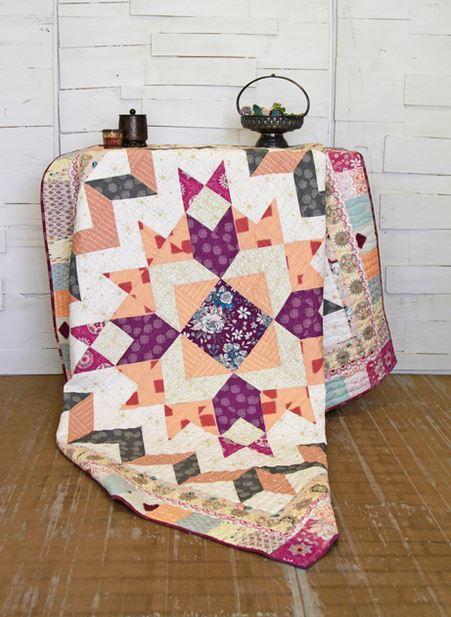 maureen cracknell mandala dreams quilt kit sewing pattern