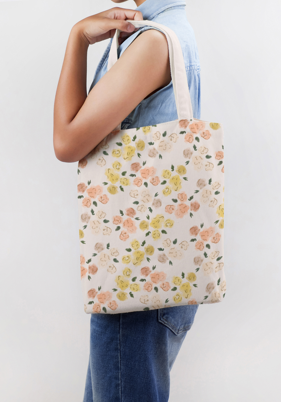 Woman with Tote 1