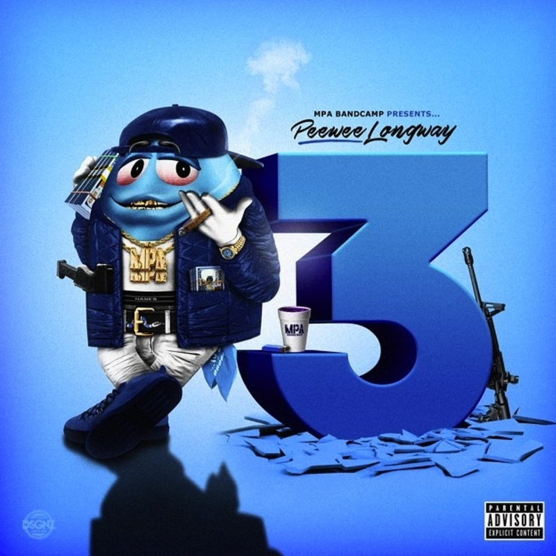 Peewee Longway Blue Mm 3-front-large