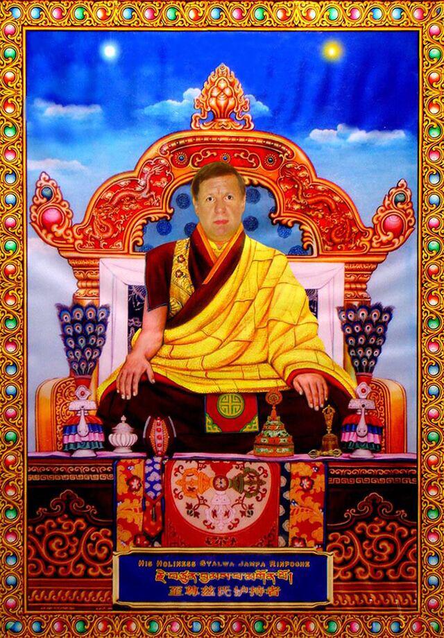 HH Buddha Maitreya