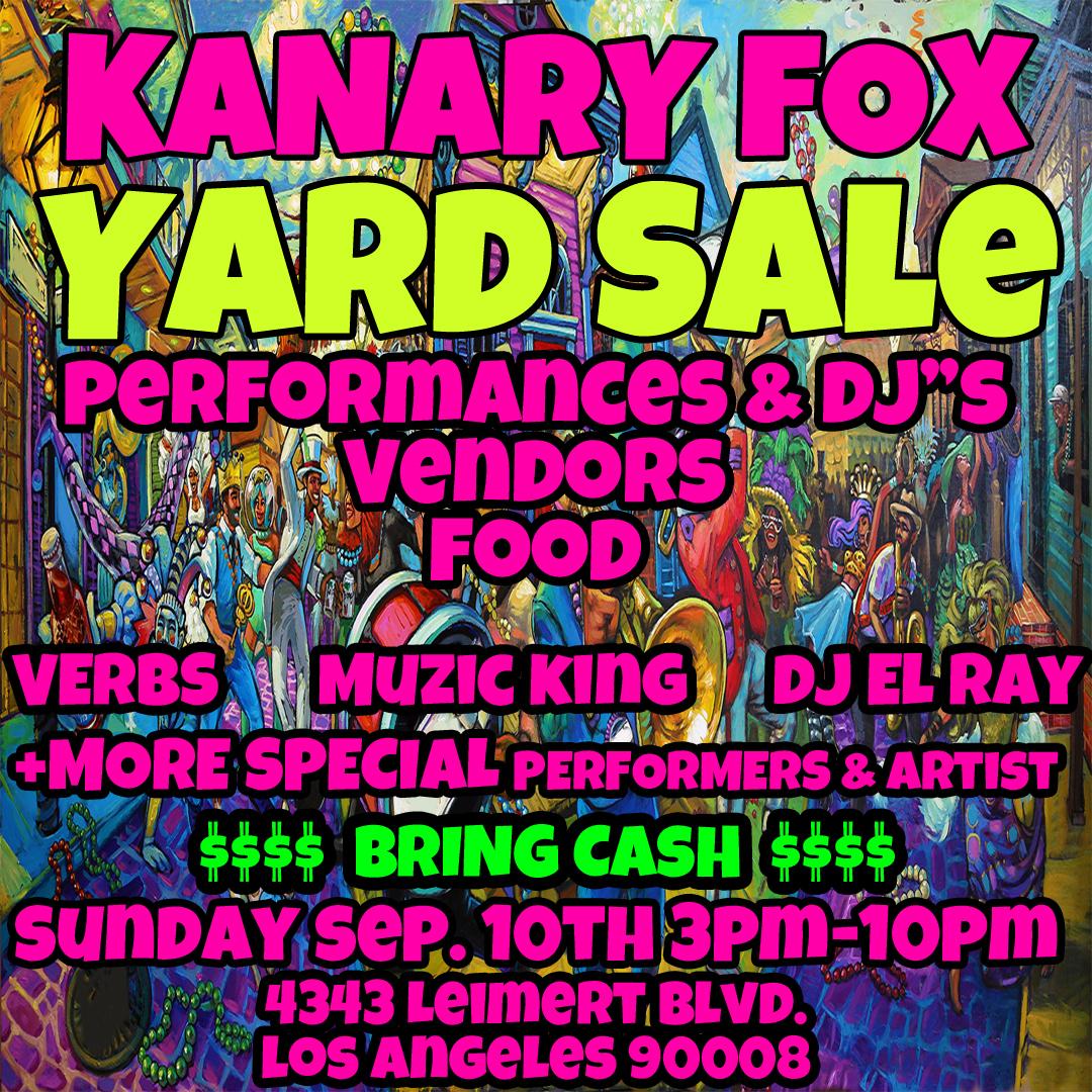 Kanary-Yard-Sale