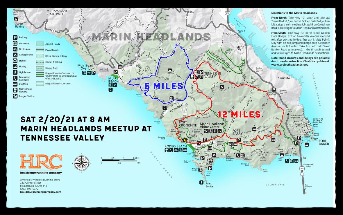 marin headlands map