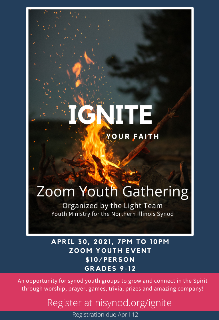 Ignite - Zoom Youth gathering