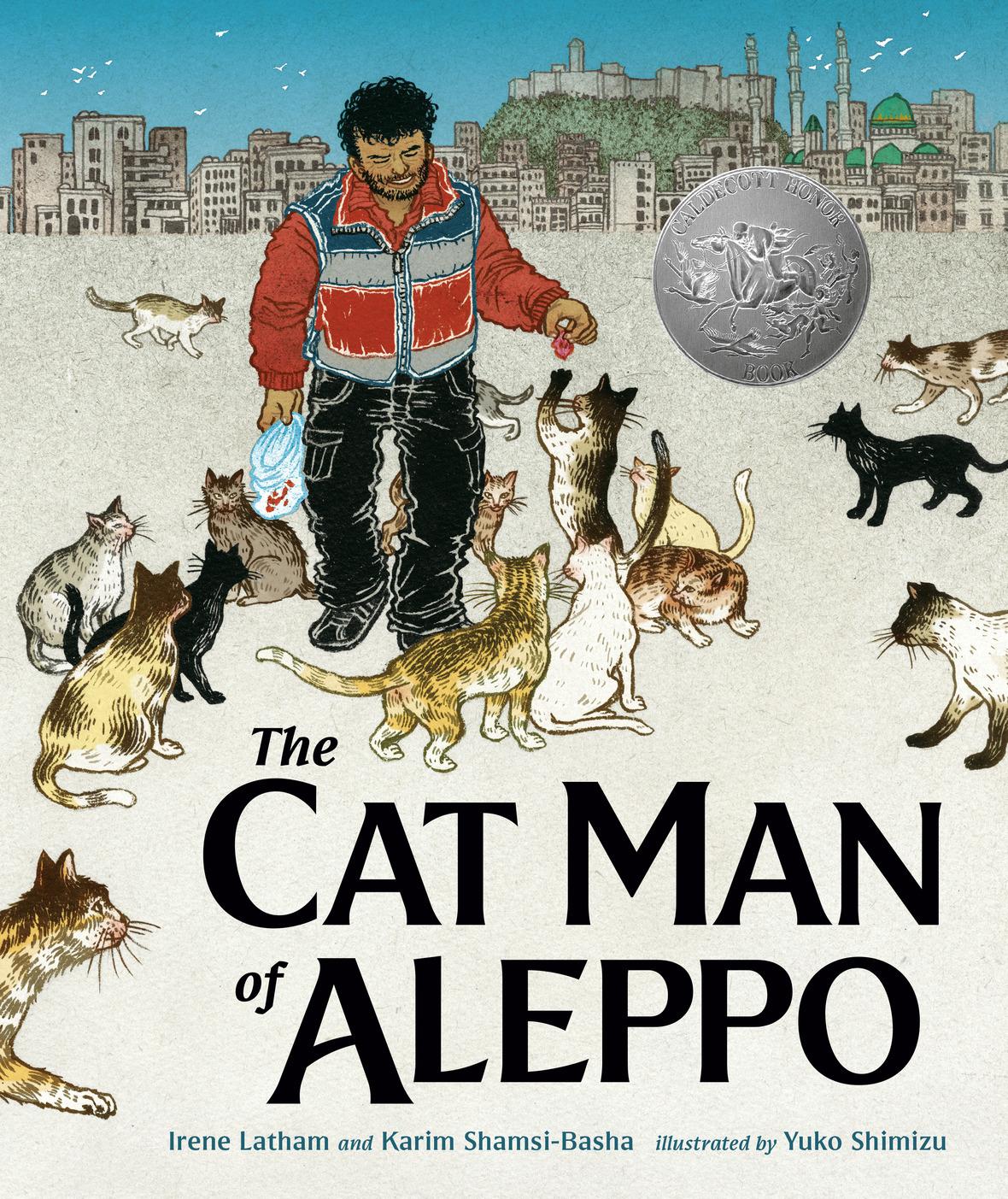 cat man with caldecott