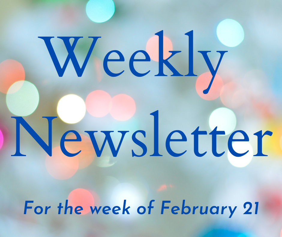Weekly Newsletter larger