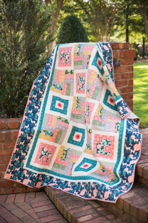 Coats Asset Library- orange grove quilt pattern
