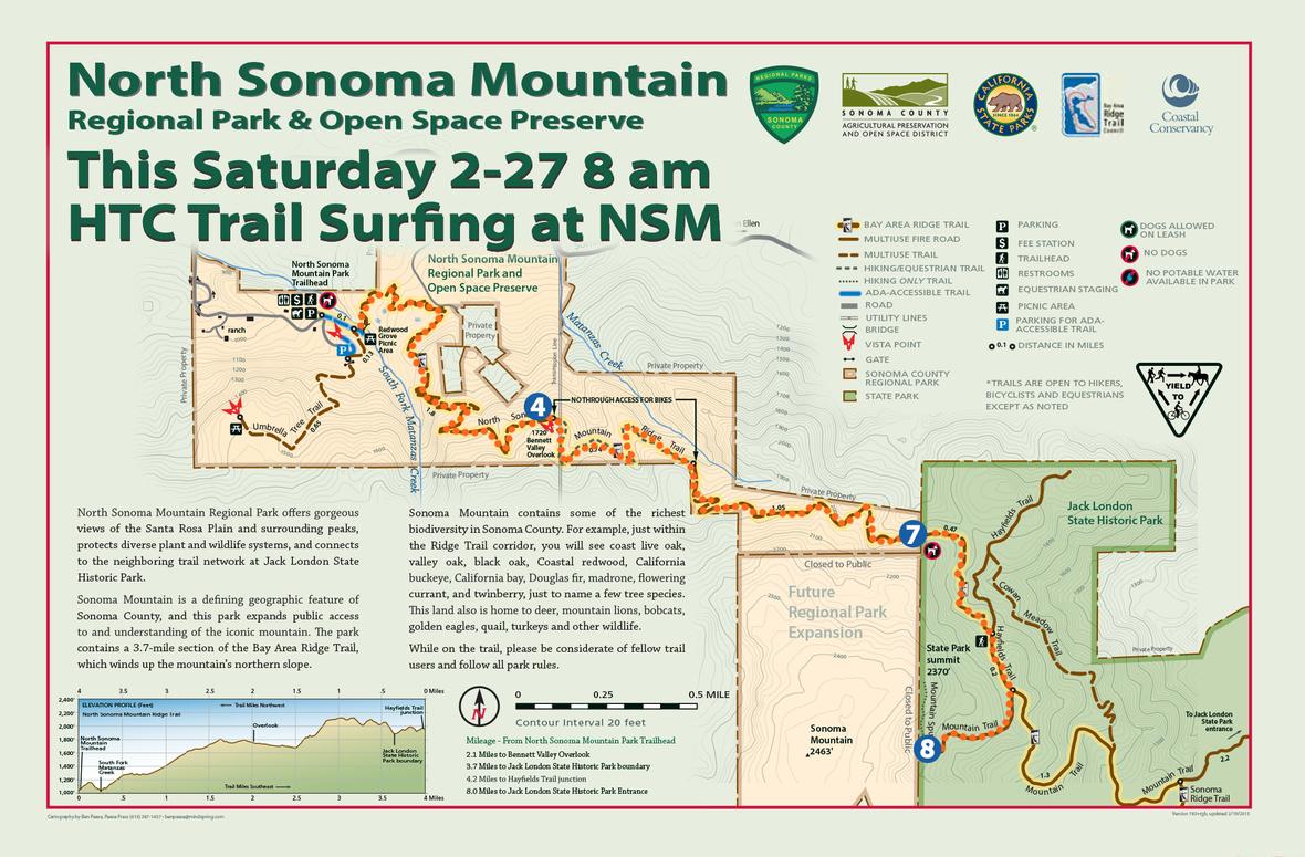 north-sonoma-mountain-park-map