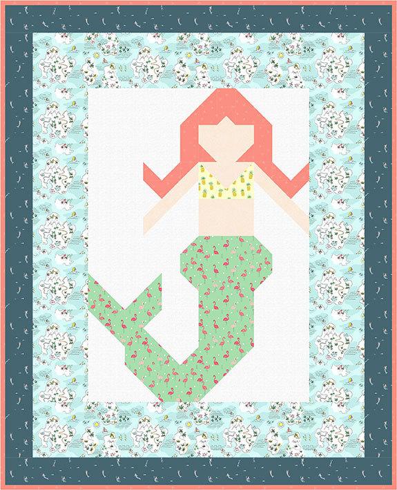 DS PATTERN Merry-Mermaid