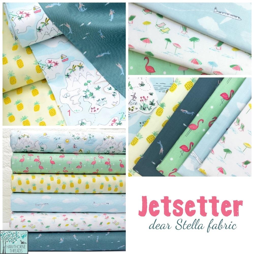 Jetsetter Fabric Poster