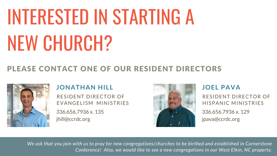 Interested in starting a new church