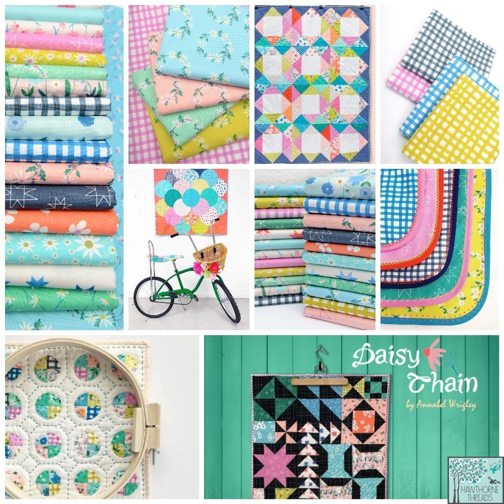 Daisy Chain Fabric Poster