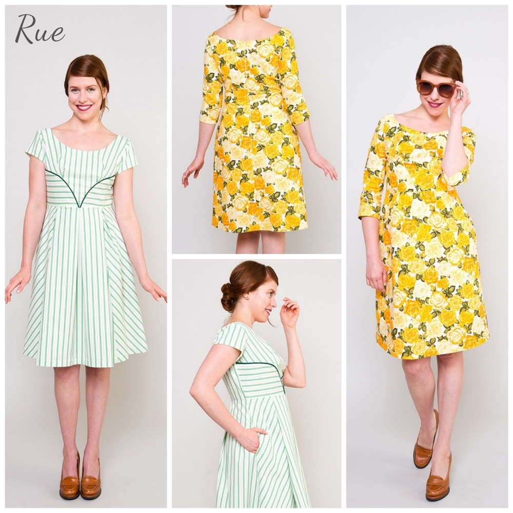 colette patterns rue sewing pattern