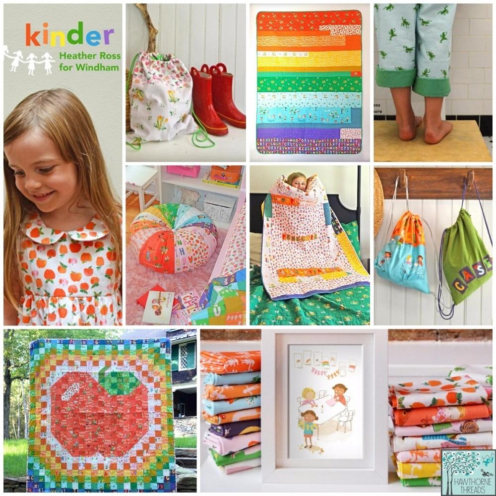 Kinder Fabric Poster