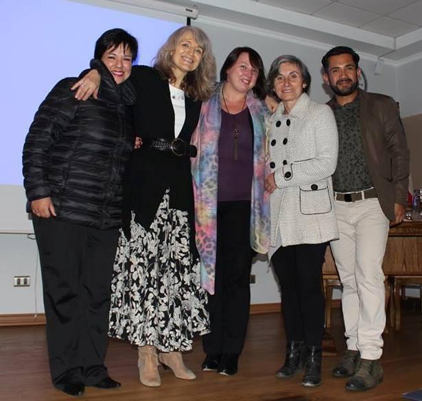 VIRGINIA GAWEL CHILE MAYO 2016 Juan Pablo Yaeger Monje Paulina Polgatti Sambuceti y Sandra Vera.