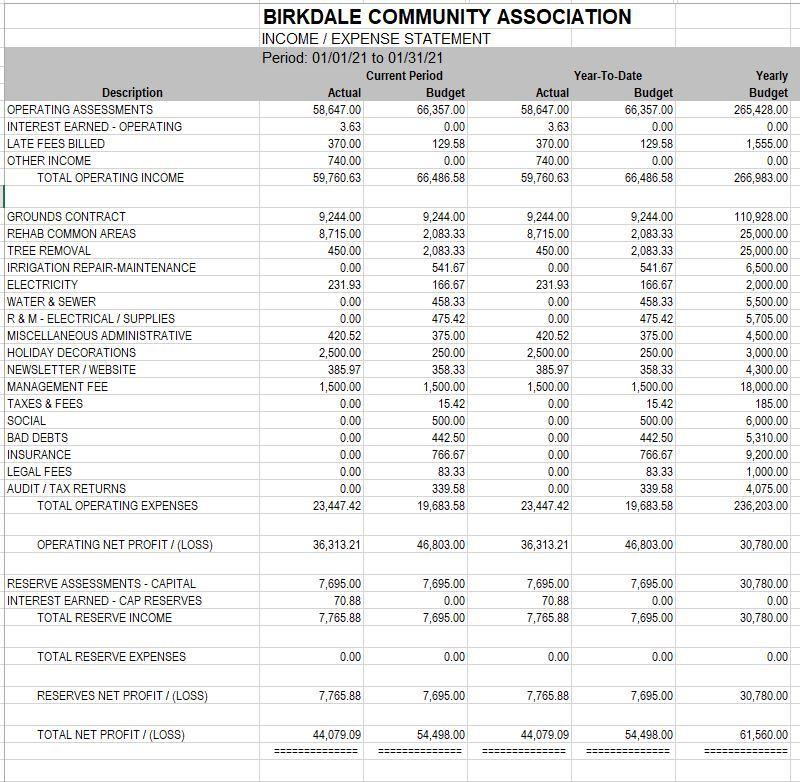 financial march1