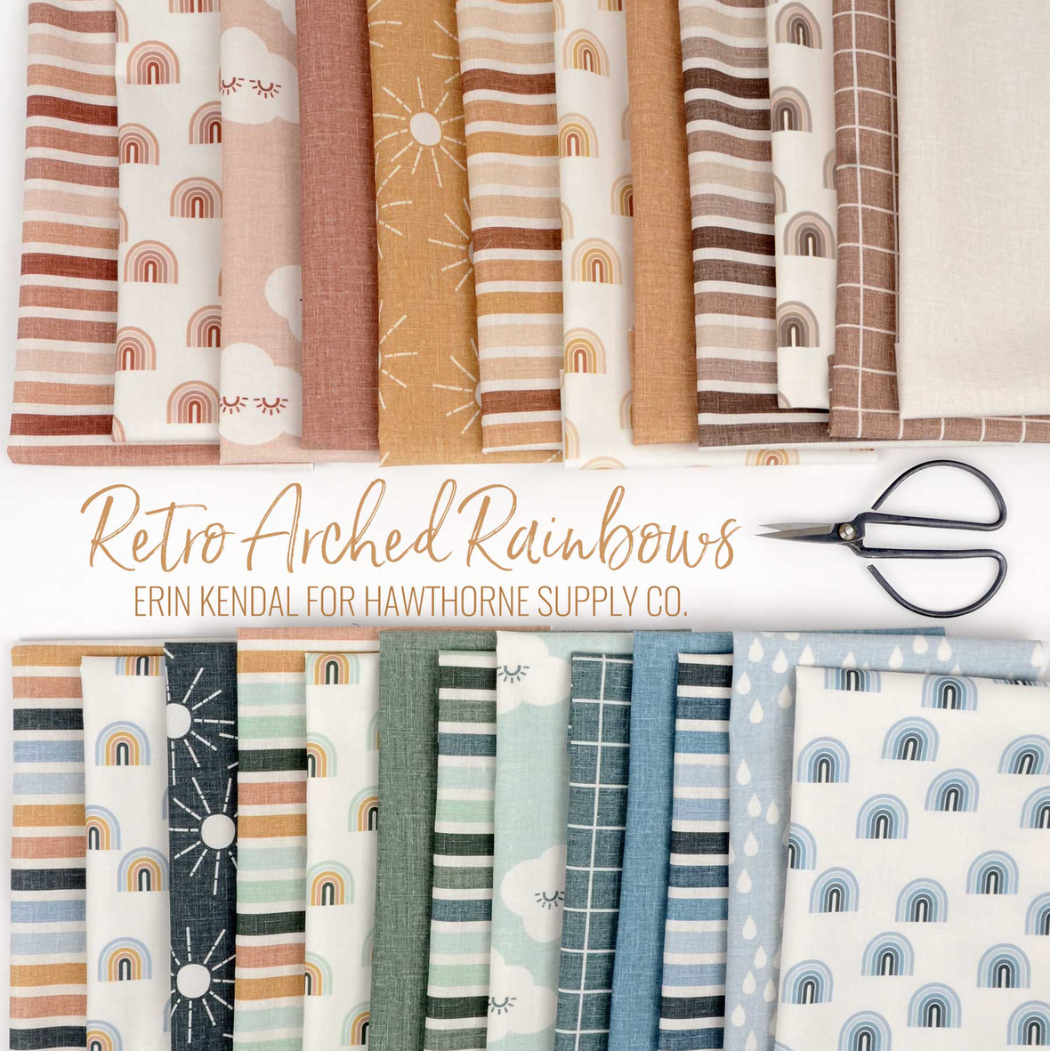 Retro-Arched-Rainbows-fabric-Erin-Kendal-for-Hawthorne-Supply-Co 2