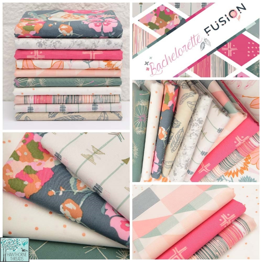 Bachelorette Fusion Fabric Poster
