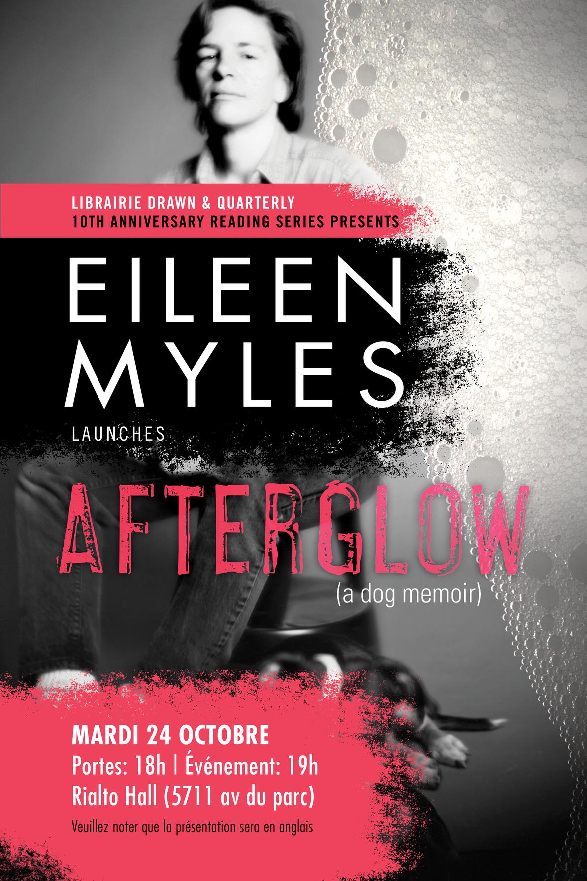 EileenMyles Poster