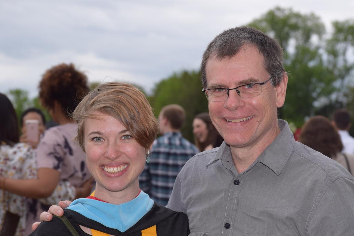 Renee graduation