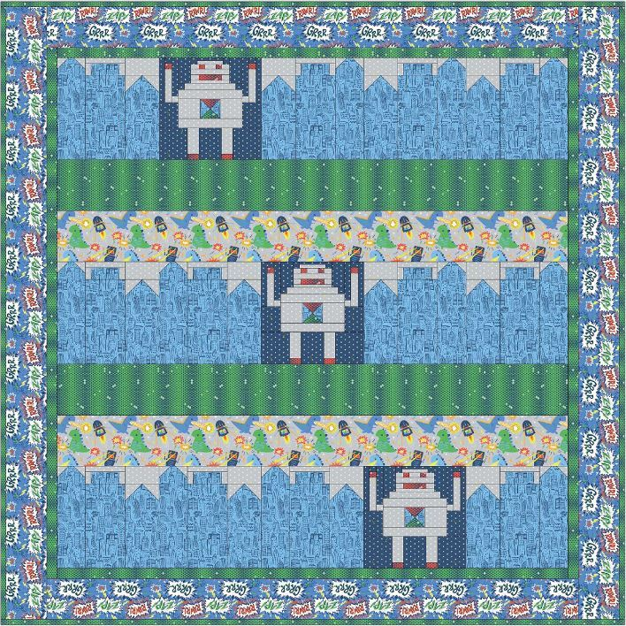 blend- free quilt patterns