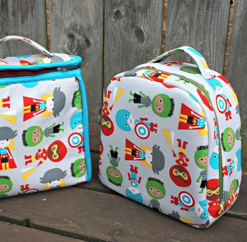 peas and corn lunch bag- sew sweetness
