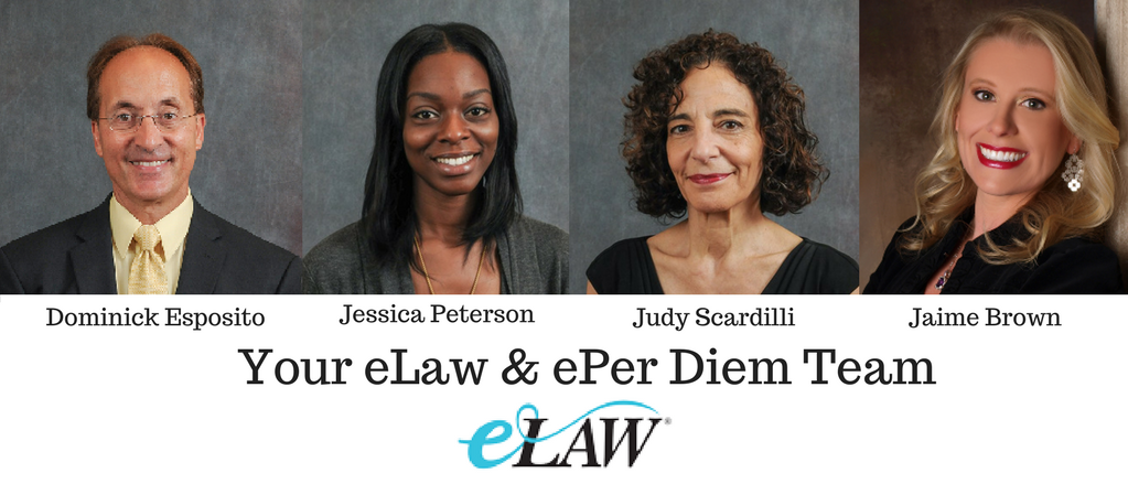 Meet Our People eLaw and ePer Diem